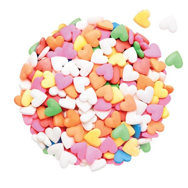 Renkli Minik Kalp Seker 40 Gr